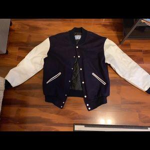 Vintage Navy Bomber Jacket